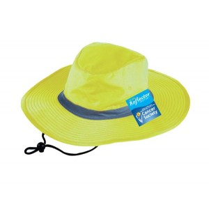 Hi Viz Reflector Safety Hat