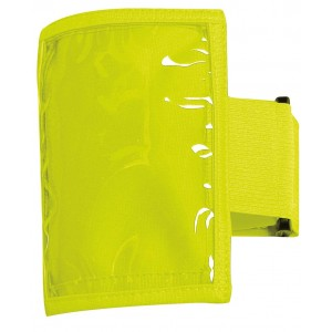 Fluoro Plastic Pocket Sleeve Band