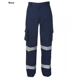 JBs Mercerised Multi Pocket Pant with 3M Reflective Tape